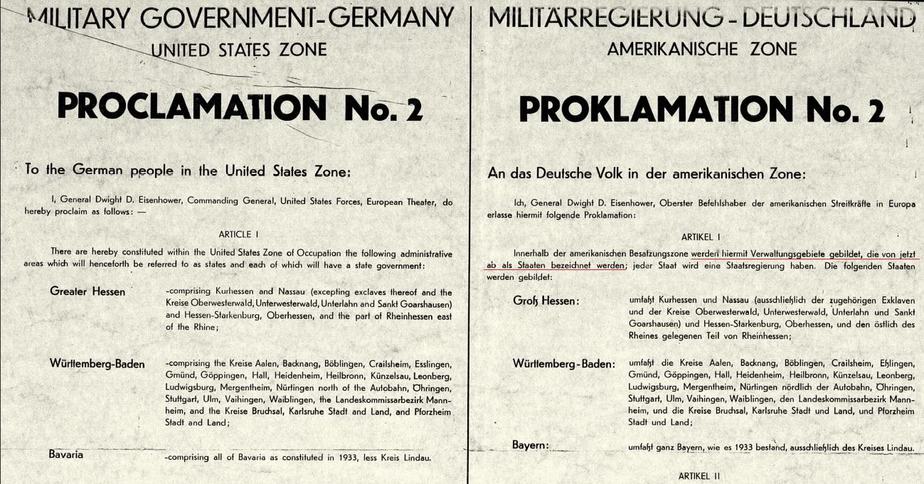 Proklamation Nr.2