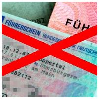 Nix da, Führerschein